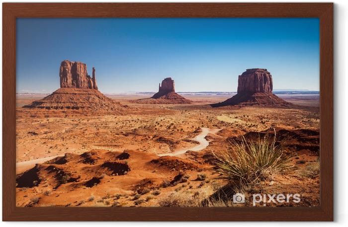 Monument Valley, USA Framed Poster - Desert