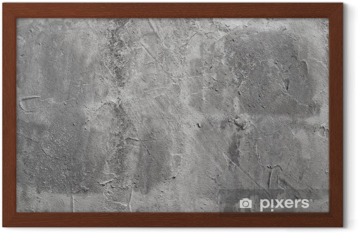 beton wall Framed Poster - Themes