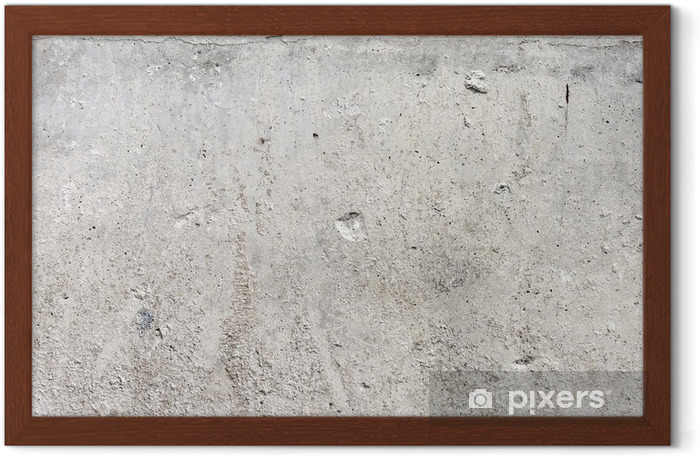 High Resolution Concrete Grunge Weathered Wall Framed Poster - Styles