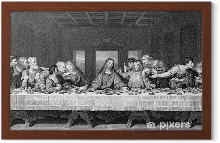 The Last Supper Framed Poster - Themes