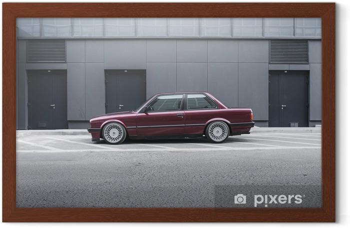 BMW E30 Framed Poster - Themes