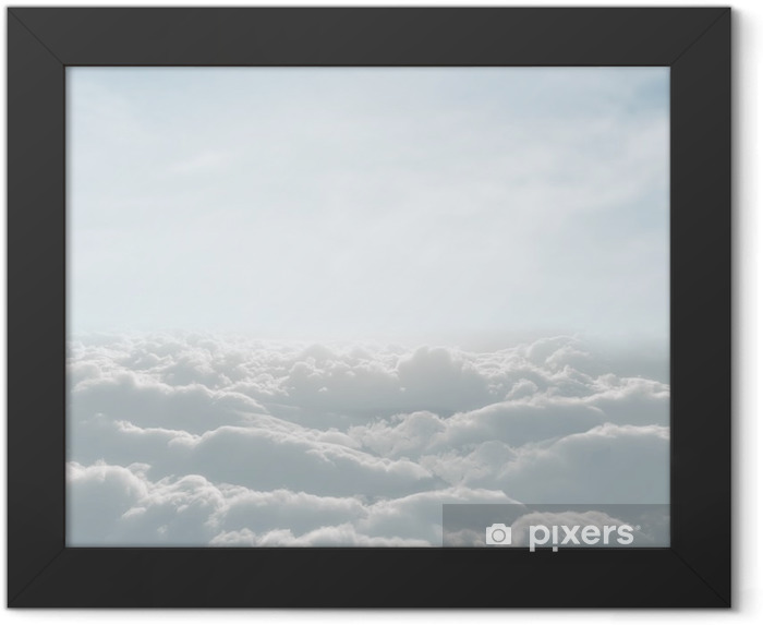 high definition skyscape with clouds Framed Poster - Themes