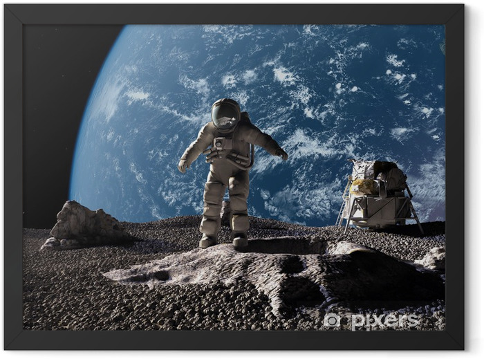 The astronaut Framed Poster - Themes