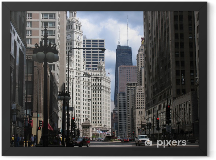 Downtime Chicago Framed Poster - Themes