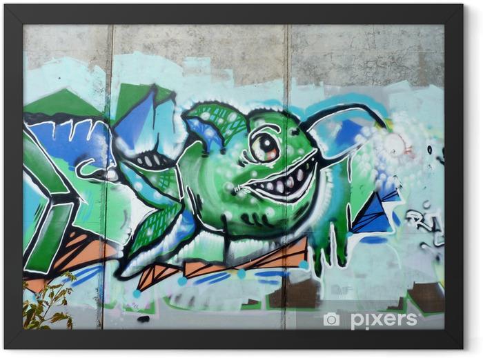 Poster en cadre Poissons à pleines dents - Thèmes