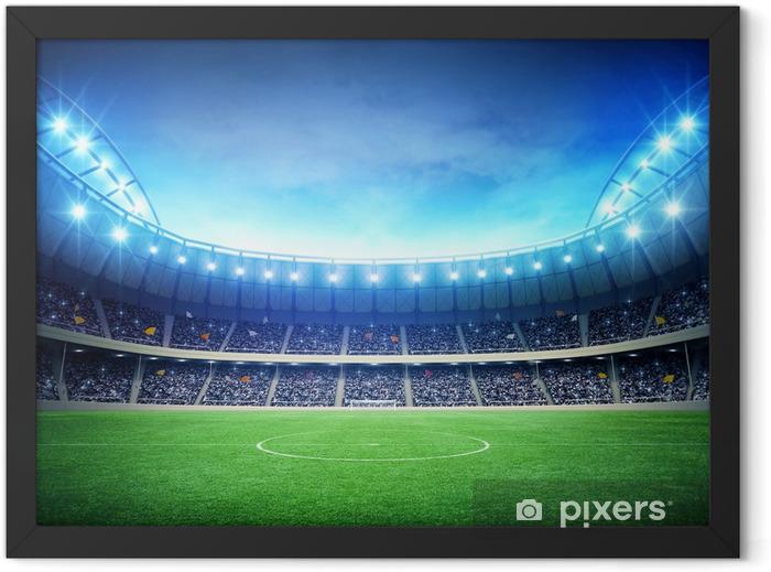 Stadium night Framed Poster - American football
