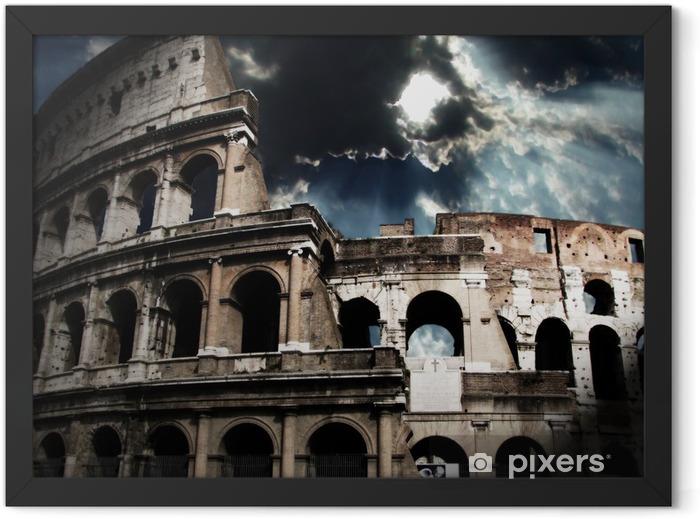 Plakat w ramie Koloseum w Rzymie - Tematy