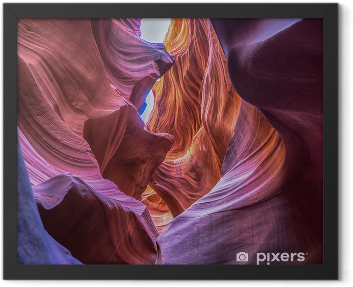 antelope canyon Framed Poster - Landscapes