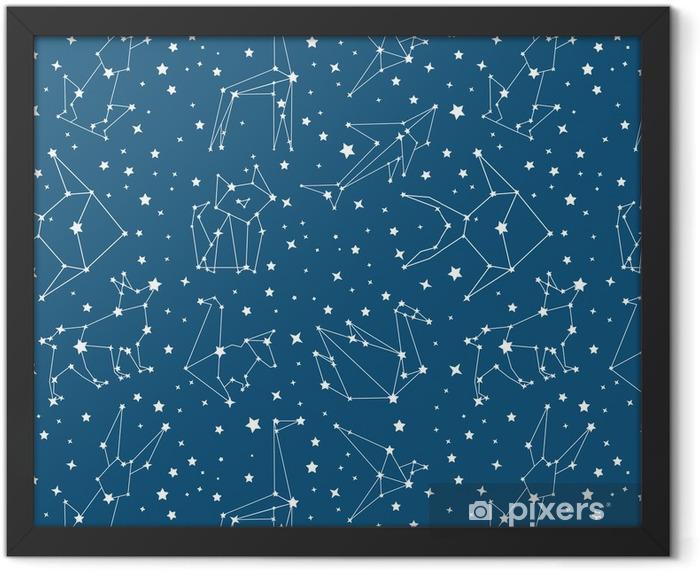 Plakat w ramie Galaktyka - Zasoby graficzne