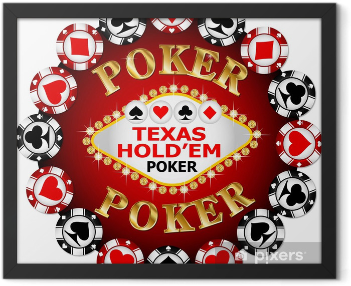 Poker chip Framed Poster - Entertainment
