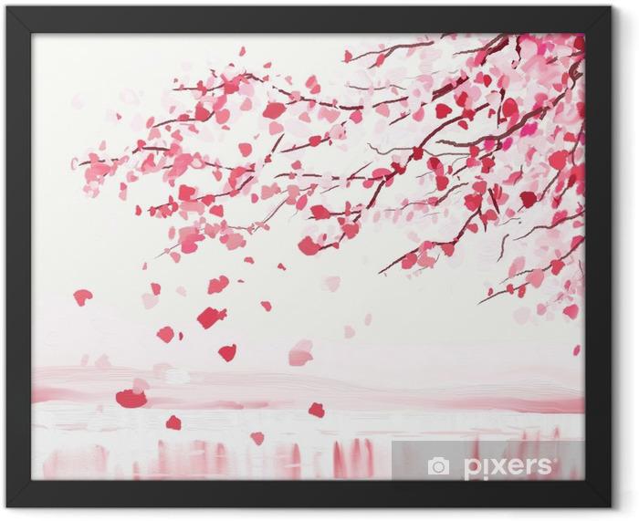 Japanese cherry tree Framed Poster - Styles
