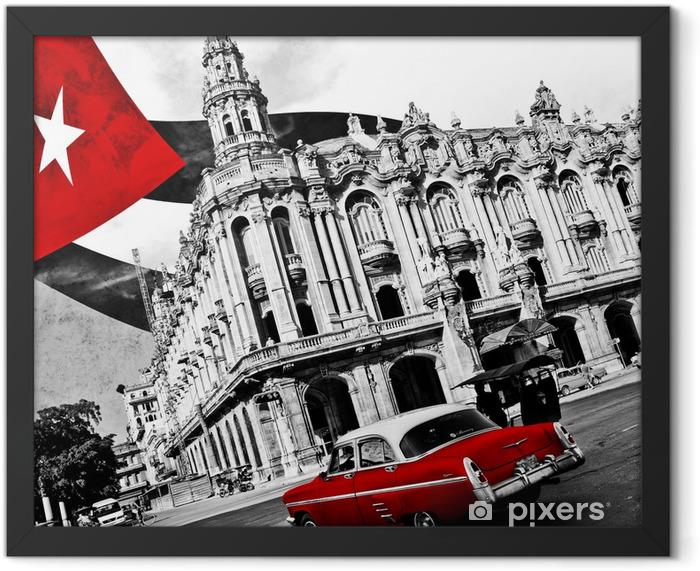Cuba (n&b) Framed Poster -