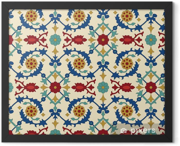 Plakat w ramie Arabski wzorek powtarzalne - Style