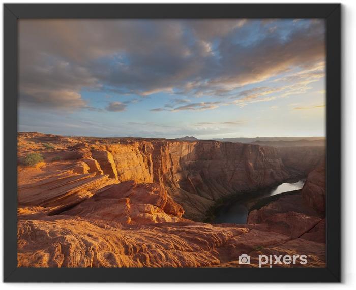 Colorado river Framed Poster - Mountains