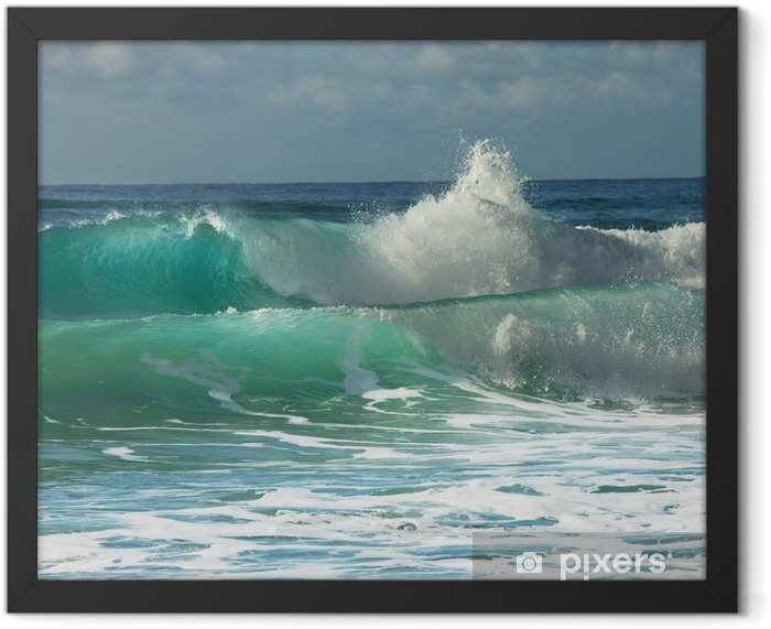 Wave Framed Poster - Styles