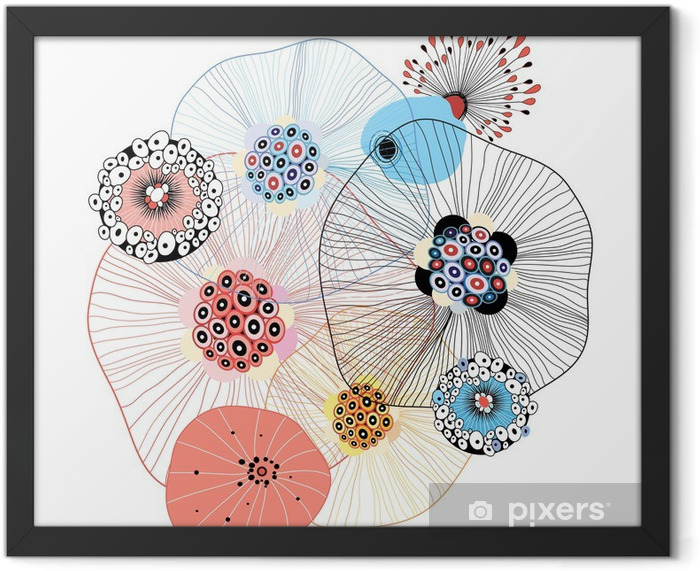 abstract elements Framed Poster - Abstract