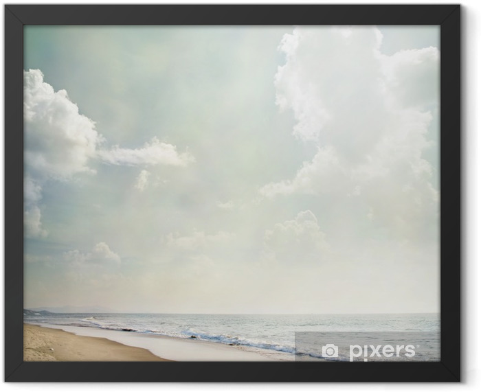 Nature-74 Framed Poster - Sea and ocean