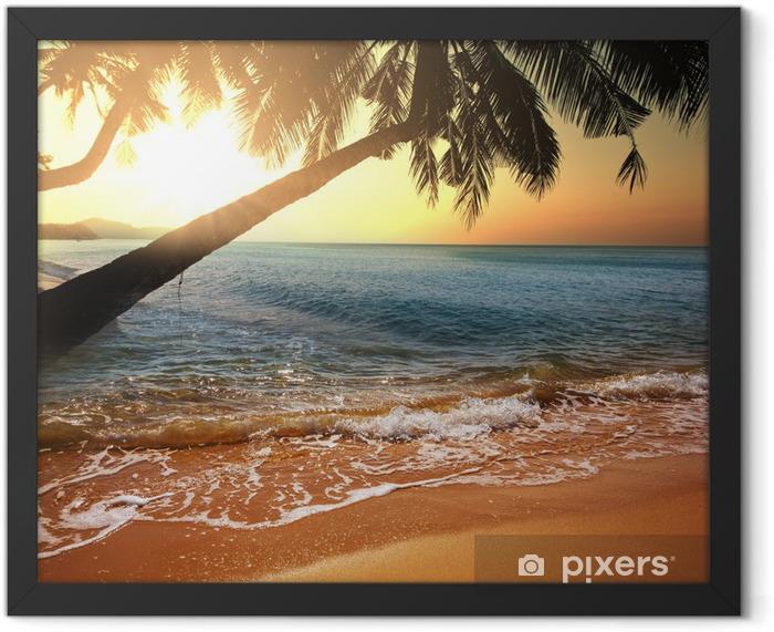 Tropical beach Framed Poster - Destinations