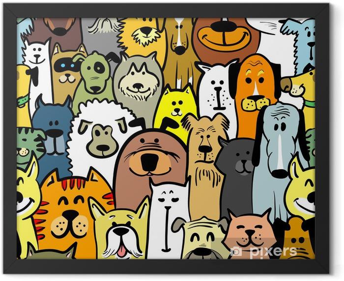 Poster en cadre Les chiens et les chats - Mammifères