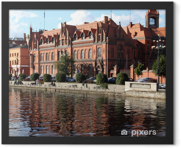Poland - Bydgoszcz Framed Poster - Themes