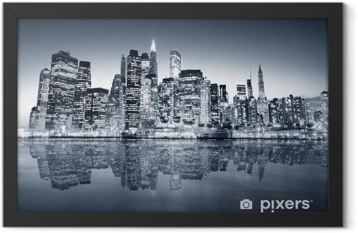New York manhattan Framed Poster -
