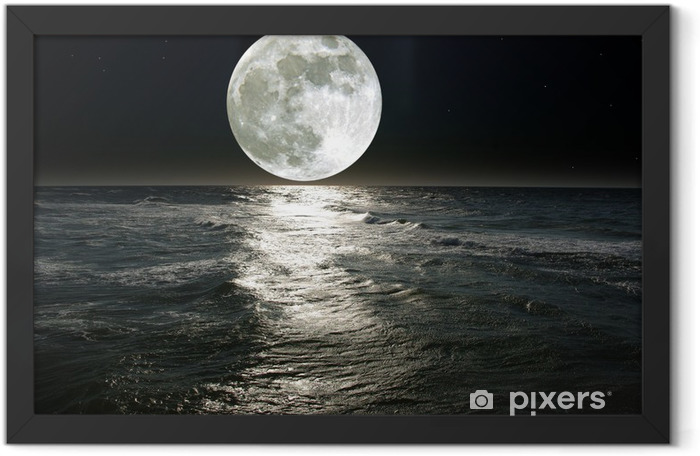 moon Framed Poster - Destinations