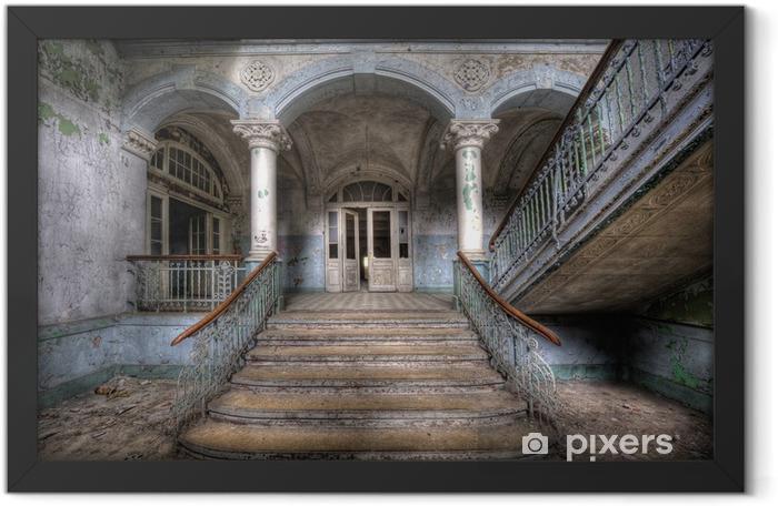 Plakat w ramie Stare schody w Beelitz - Tematy