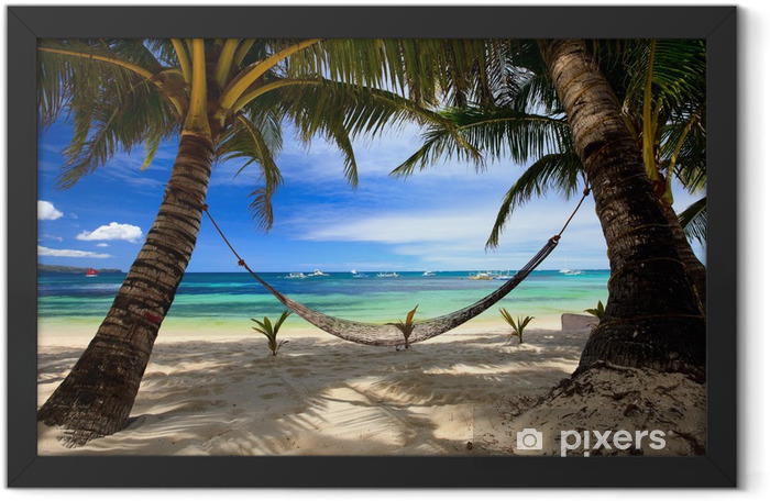 Perfect beach Framed Poster - Themes