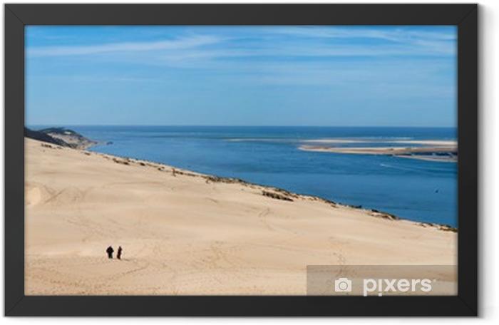 Poster en cadre Panorama Dune du Pyla - Eau