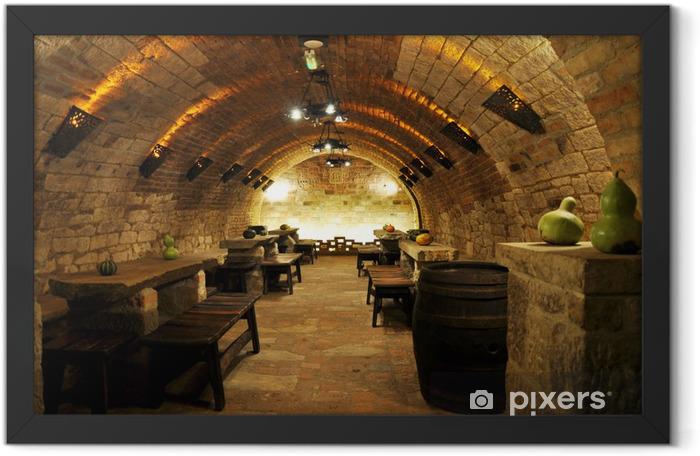 wine archiv Framed Poster -