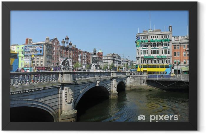O Connell Bridge Dublin Framed Poster - Europe