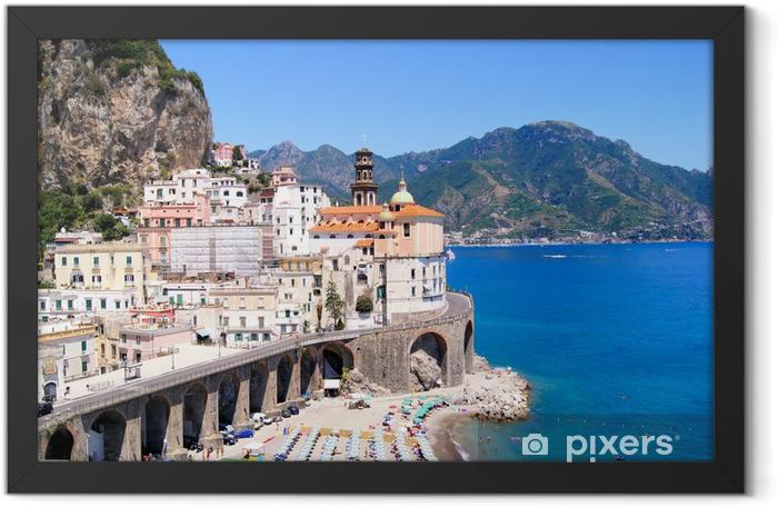 Atrani, Amalfi Coast, Italy Framed Poster - Themes