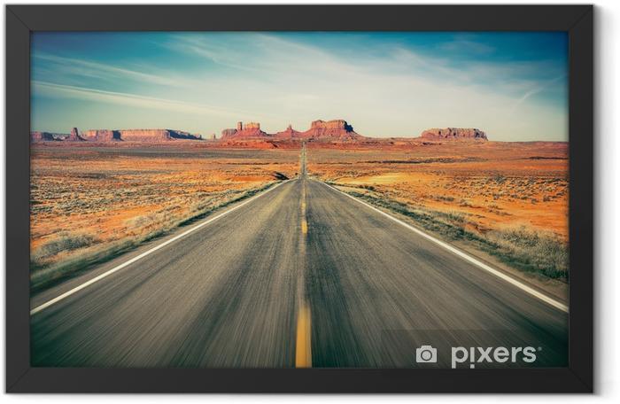 Monument Valley Framed Poster -