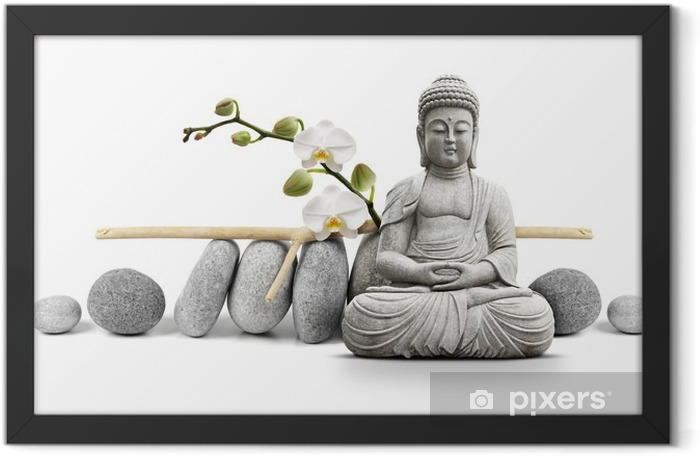 Bouddha et Bien-être Framed Poster - Styles