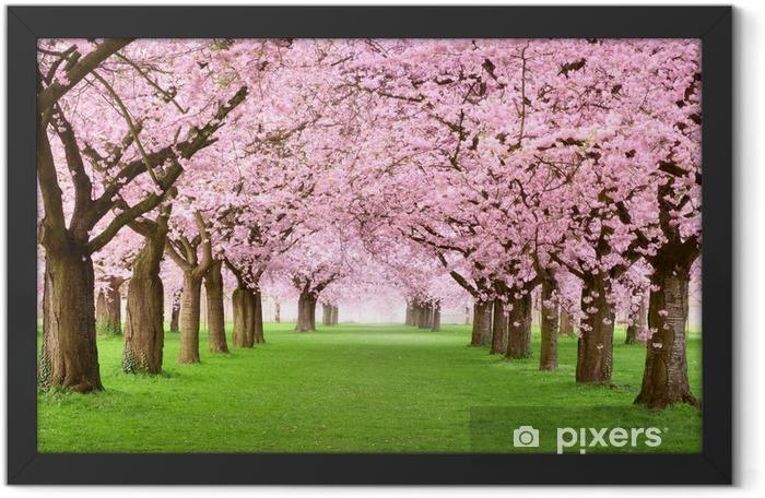 Plakat w ramie Ogrody kwitną w całości - Przeznaczenia