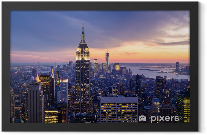 New York City Framed Poster -