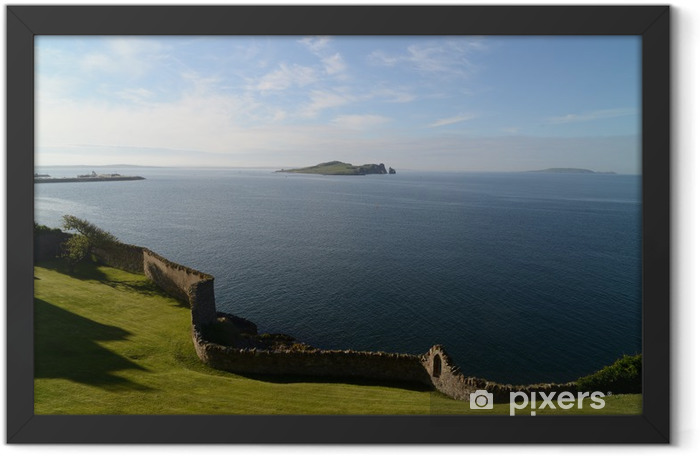 Howth panorama Framed Poster - Water