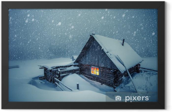 Ingelijste Poster House - Winter