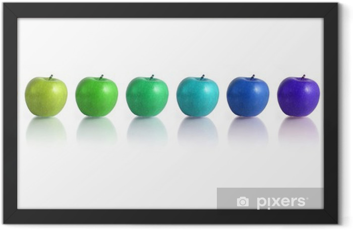 apples Framed Poster - Wall decals