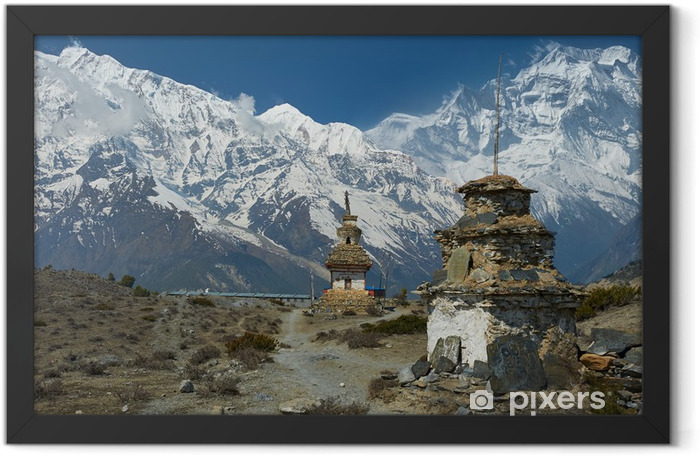 Himalayas Framed Poster - Themes