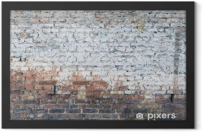 Ingelijste Poster Muur textuur - Achtergrond