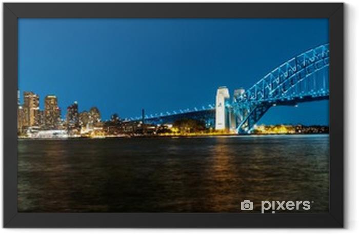 Sydney Framed Poster - Oceania