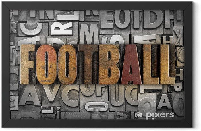 Football Framed Poster -
