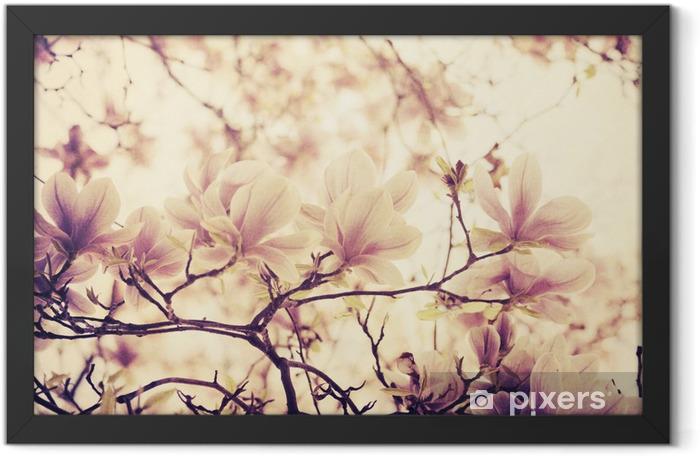 Plakat w ramie Magnolia - Style