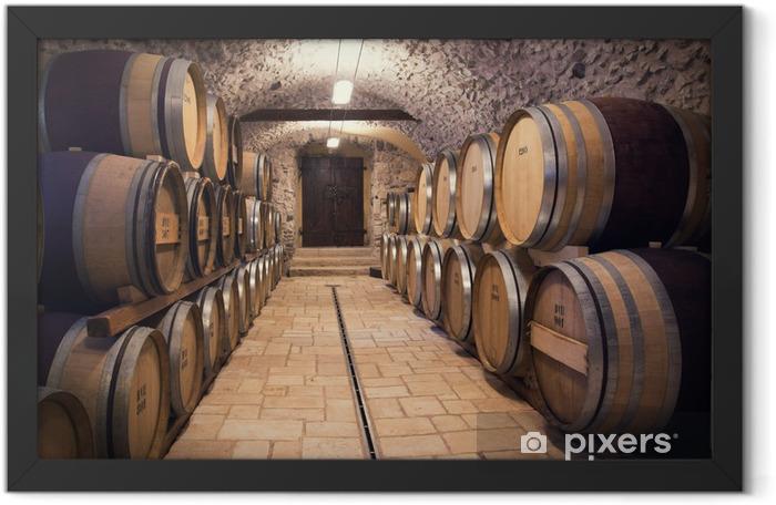 Plakat w ramie Starożytny winiarnia - Style