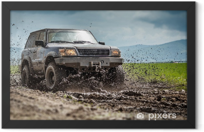 Off road Framed Poster - Themes