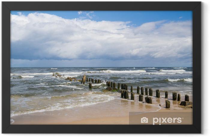 Plakat w ramie Morze Bałtyckie krajobraz - Tematy