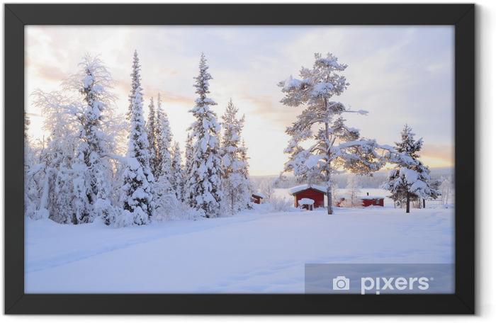Winter landscape Framed Poster - Themes