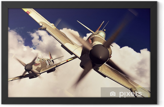 Plakat w ramie Supermarine Spitfire - iStaging