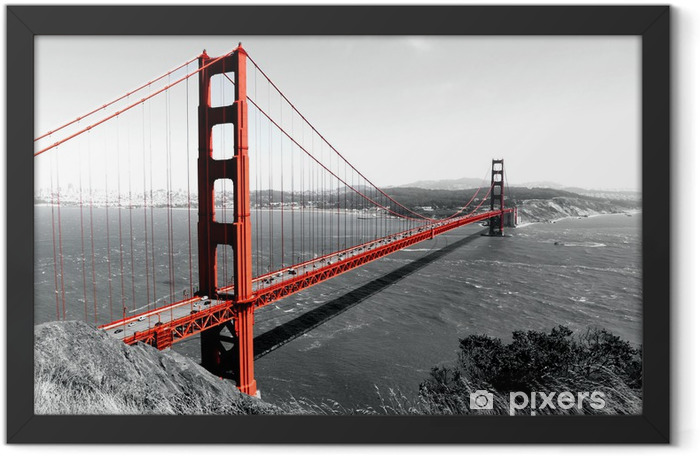 Golden Gate Bridge Framed Poster - iStaging